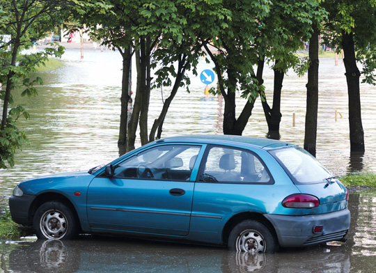 Avoid Buying a Flood Damaged Vehicle