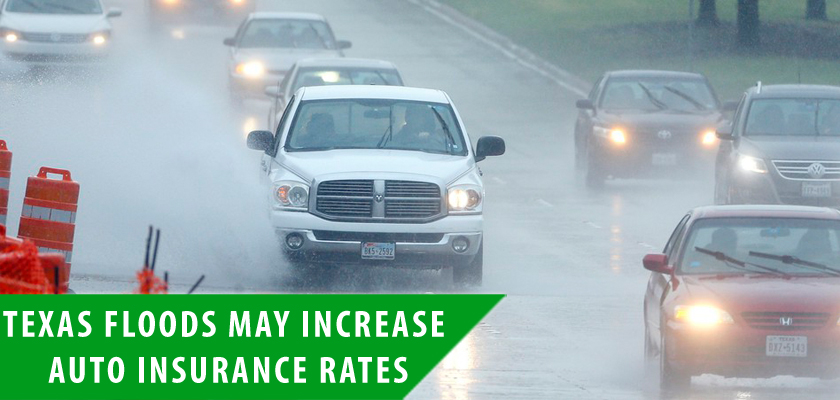 Texas Floods May Increase Auto Insurance Rates