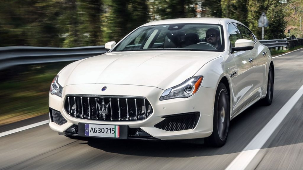 maserati quattroporte gts - $3,547 - 9th Most Expensive Car to Insure in Texas