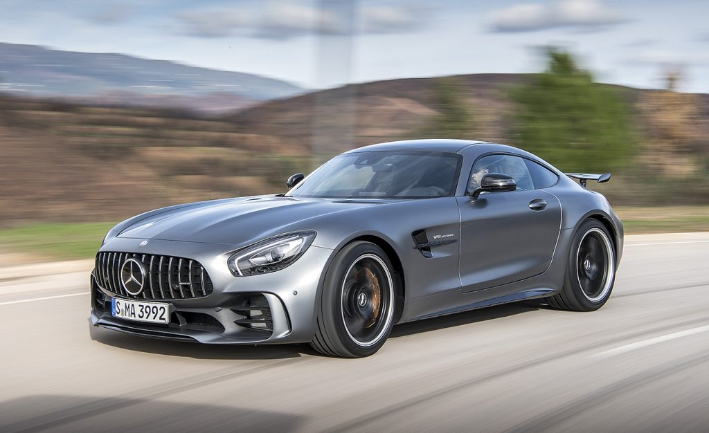 mercedes-amg gt - $3,164 - Most Expensive Car to Insure in Texas
