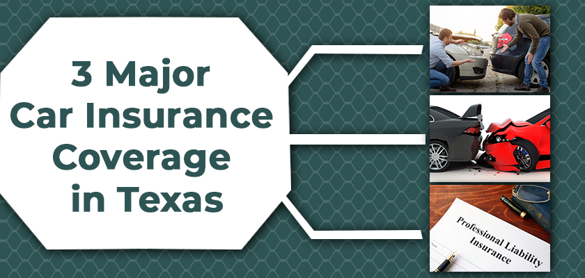 What Are the 3 Major Types of Car Insurance in Texas?