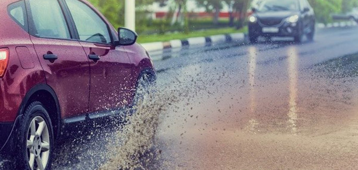 Drive Your Car Safely In The Rain